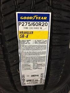 Goodyear SR-A all season highway tire 275-60-20 275 60 20