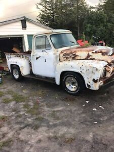 1954 FORD F100. TRADE FOR MUSTANG