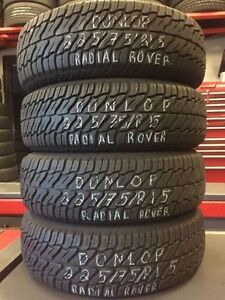 """15"""" USED TIRES @ XTREME AUTO-COME ON IN!!!!!"""