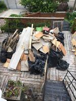 Ramassage de débris & Ramasse Terre & Dechet Construction