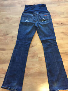 7 For All Mankind Maternity Jeans - Size 28 - MINT