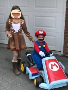 The Motorized Ride On Mario KartThis is the real-life Mario