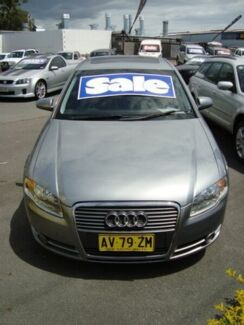2005 Audi A4 B6 MY04.5 Multitronic Grey 1 Speed Constant Variable Sedan Tweed Heads South Tweed Heads Area Preview