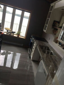 Granite Fantasy Brown @ QuebecKitchens.ca, Happy Customer West Island Greater Montréal image 2