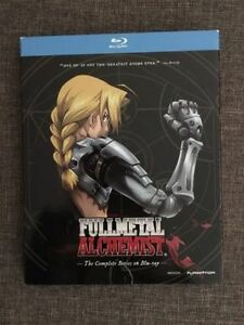 FULLMETAL ALCHEMIST: The Complete series Bluray NEW sealed
