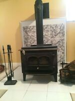 Wood burning Stove - Fireplace, complete!