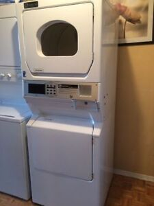 Commercial maytag washer & GAS dryer with option to make it coin