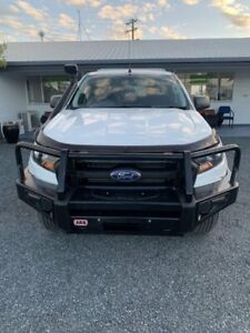 2017 Ford Ranger PX MkII XL Super Cab Cool White 6 Speed Sports Automatic Cab Chassis Mackay Mackay City Preview