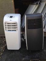 air conditioner portatif LG  1200 btu 3en1 flambant neuf