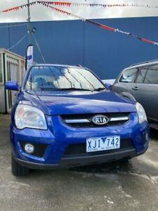 2009 Kia Sportage KM2 MY10 LX Blue 4 Speed Automatic Wagon