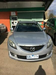 2009 Mazda 6 GH Classic Silver 5 Speed Auto Activematic Wagon Werribee Wyndham Area Preview