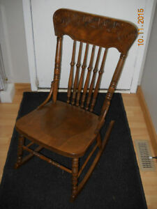 Early 1900s Antique Maternity Rocking Chair