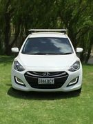 2014 Hyundai i30 GD Active Tourer White 6 Speed Sports Automatic Wagon Reynella Morphett Vale Area Preview