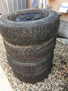 P205/70R15 RIMs with snow tires