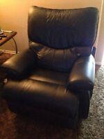 Power massager recliner rocker leather lazy boy was $3500 new.