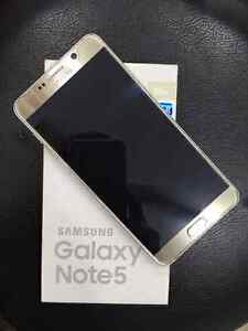 SAMSUNG GALAXY NOTE 5 GOLD PERFECT NO SCRATCHES Sunnybank Hills Brisbane South West Preview