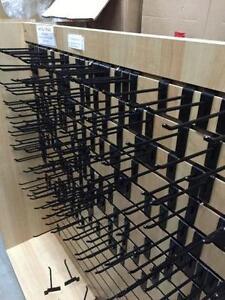 Slat wall hooks