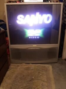 FREE 52inch RCA Projector & 25inch Tube Tv's