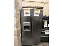 *WHIRLPOOL AMERICAN FRIDGE FREEZER WITH ICE MAKER & DRINKS DISPENSER FOR ONLY *£300* *DELIVERED*