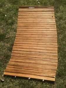 Excellent Condition Bamboo Blind with Hardware