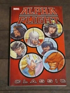 ALPHA FLIGHT GRAPHIC NOVEL ( TPB )