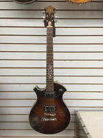Carparelli  Dark Brown Electric  Guitar - NEW ,LEFT HANDED