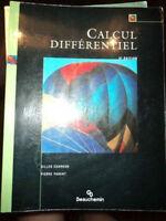 Calcul différentiel 5e édition