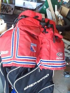 Jr Ranger Goalie Pants - Size Jr Medium