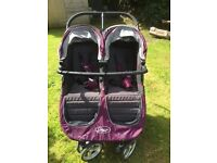 Double buggy city mini with extras