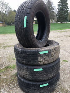 235/65/16x4 Firestone All Season About 90% Tread