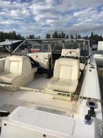 1995 SEA PRO WITH 2008 EVINRUDE ETEC 115HP Timmins Ontario Preview