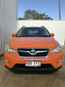2013 Subaru XV G4X MY13 2.0i-L Lineartronic AWD Tangerine Orange 6 Speed Constant Variable Wagon