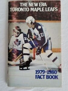 Toronto Mapleafs 1979-80 Fact Book