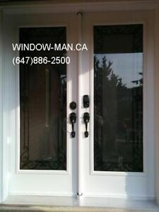 Iron Door Wrought Front  contemporary or traditional Design