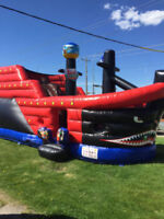 Birthday PARTY event RENT inflatable bouncy ship gift castle
