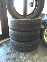 4 Pneus ete Goodyear wrangler hp 275/60/20