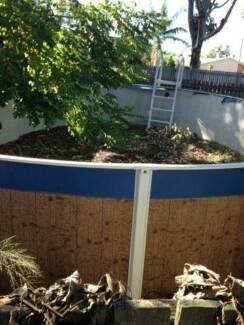 Free Above Ground Pool (No Liner) & Fence Norman Gardens Rockhampton City Preview