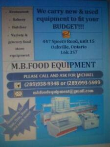 used restaurant and food store equipment