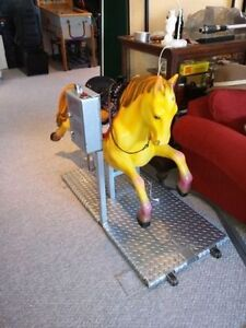 Horse Kiddie Coin operated ride Man cave Recroom Kids fun