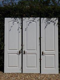 Set of 3 matching wardrobe doors
