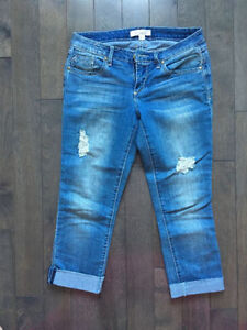 Ripped Ankle Jeans - Denim - Forever 21 - Size 27