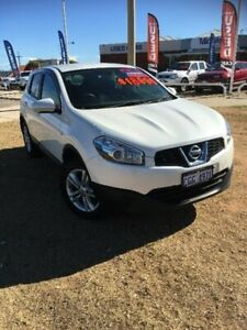 2013 Nissan Dualis J10W Series 4 MY13 ST Hatch X-tronic 2WD White 6 Speed Constant Variable Beresford Geraldton City Preview