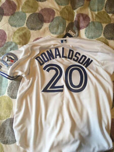 Blue Jays Authentic Josh Donaldson 40th Anniversary Jersey 2XL
