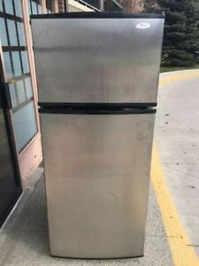Quick sale Whirlpool stainless steel bottom fridge refrigerator