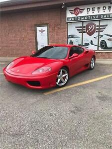 2001 Ferrari 360 Priced to SELL!!!!!