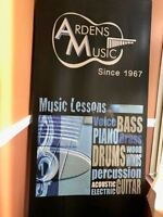 Piano, Vocal, Guitar, Drums, Violin lessons and more!