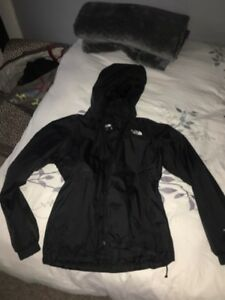 Northface Midweight Jacket and Lululemon Sports Bra
