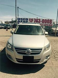 2009 Volkswagen Tiguan Highline ,panoramic sunroof, 4 motion