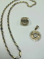 Ensemble de bijoux VERSACE en OR & DIAMANT
