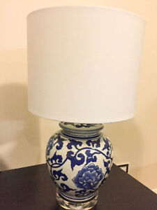 Beautiful Ceramic lided table Lamp Kitchener / Waterloo Kitchener Area image 2